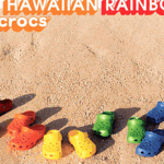 Crocs-hawaiianrainbow-March-badge